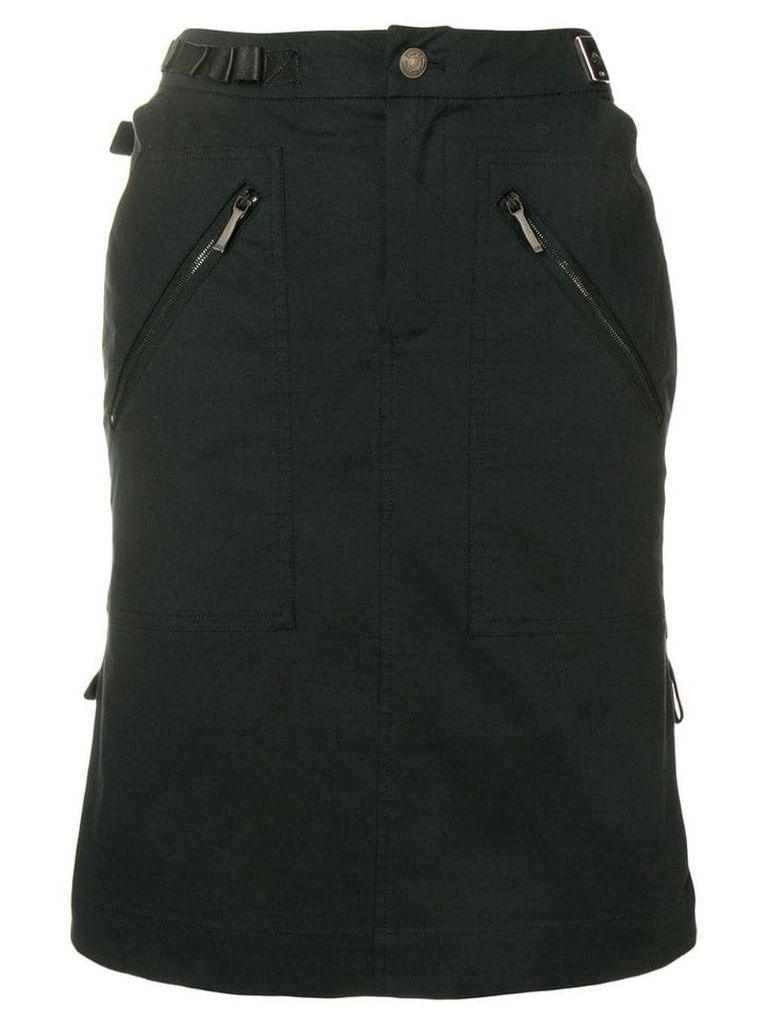 Christian Dior Vintage high-waisted skirt - Black