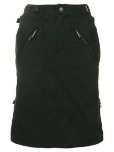 Christian Dior Pre-Owned high-waisted skirt - Black