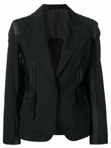 JEAN PAUL GAULTIER PRE-OWNED blazer with attached details - Black