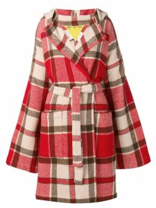 JC DE CASTELBAJAC PRE-OWNED KO and CO checkered coat
