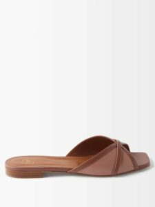 The Row - Merrian Fluted Sleeve Blouse - Womens - Tan