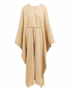 The Row - Joanna Belted Kaftan Dress - Womens - Beige