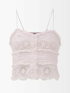 Burberry - Antonio Cotton Gabardine Car Coat - Womens - Beige Multi