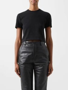 Roland Mouret - Vincent Draped Crepe Dress - Womens - Navy