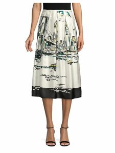 Sabilla Printed Skirt