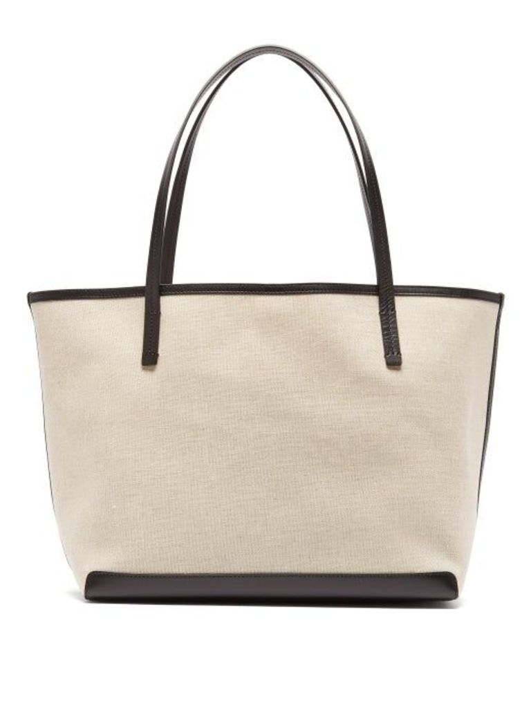 The Row - Park Canvas Tote - Womens - Black Multi