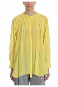 Maison Flaneur Yellow Cotton Blouse