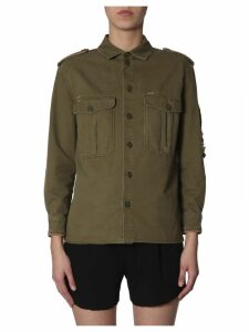 Saint Laurent Military Gabardine Shirt