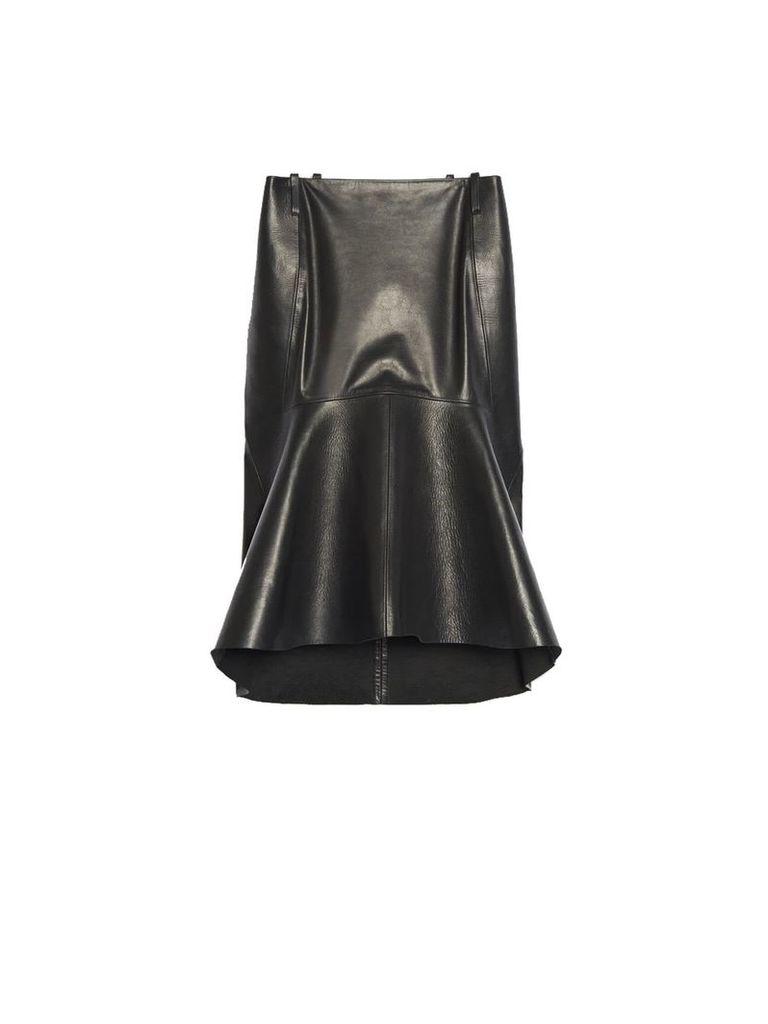 Balenciaga Balenciaga Leather Skirt
