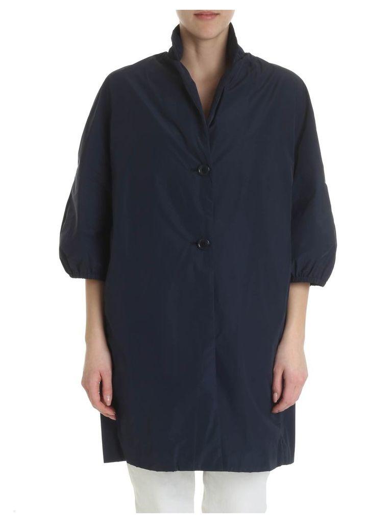 ADD Zipped Buttoned Coat