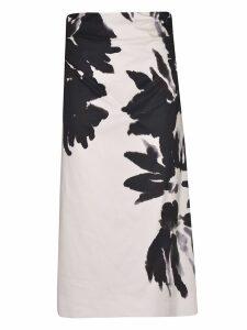 Dries Van Noten Floral Print Skirt