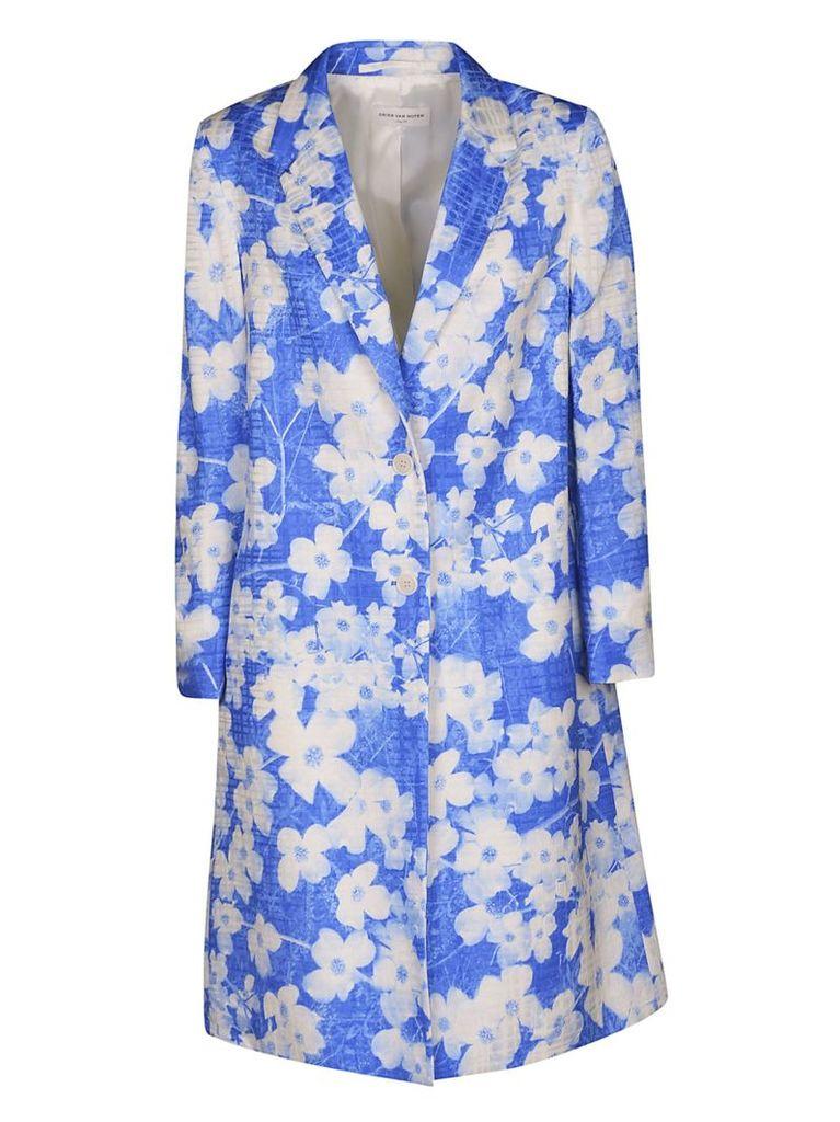 Dries Van Noten Floral Coat