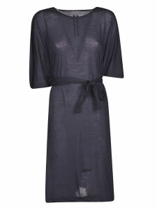 DRKSHDW Belted T-shirt Dress