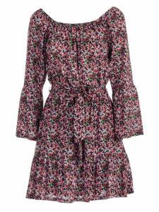 MICHAEL Michael Kors Floral Bell Cuffs Dress
