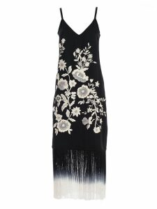 TwinSet Embroidered Floral Dress