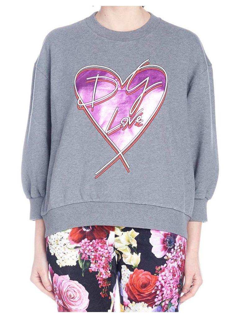 Dolce & Gabbana 'dg Love' Sweatshirt