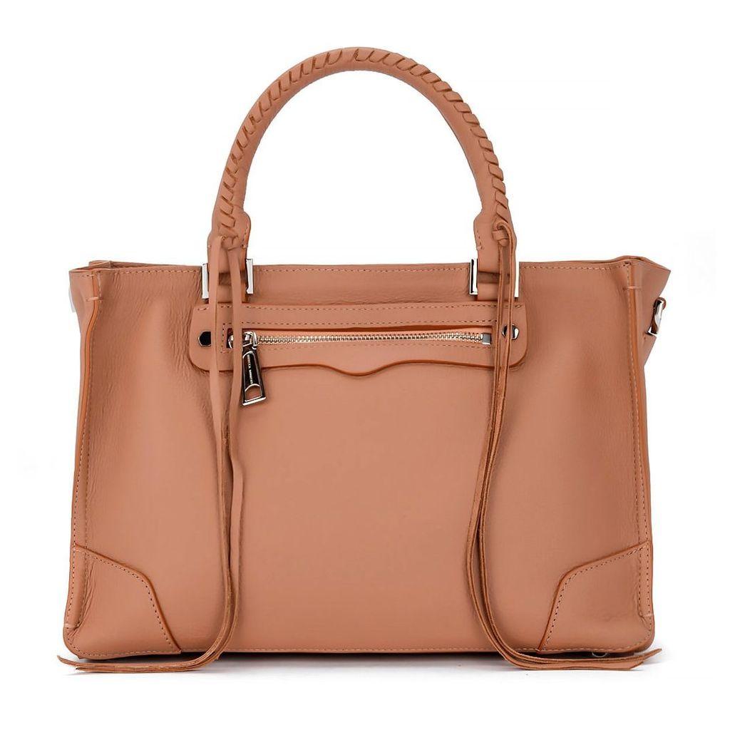 Rebecca Minkoff Regan Desert Leather Handbag