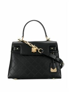 Michael Michael Kors Gramercy chain-embossed bag - Black