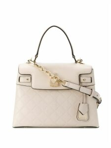 Michael Michael Kors Gramercy chain-embossed bag - Neutrals