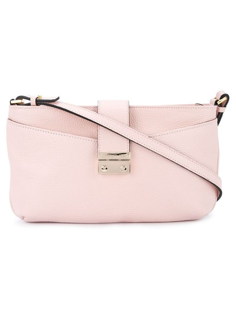 Cerruti 1881 fold over shoulder bag - Pink