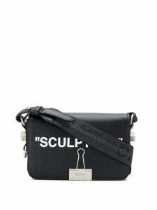 Off-White sculpture cross body bag - Black