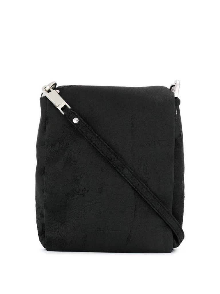 Rick Owens mini messenger bag - Black