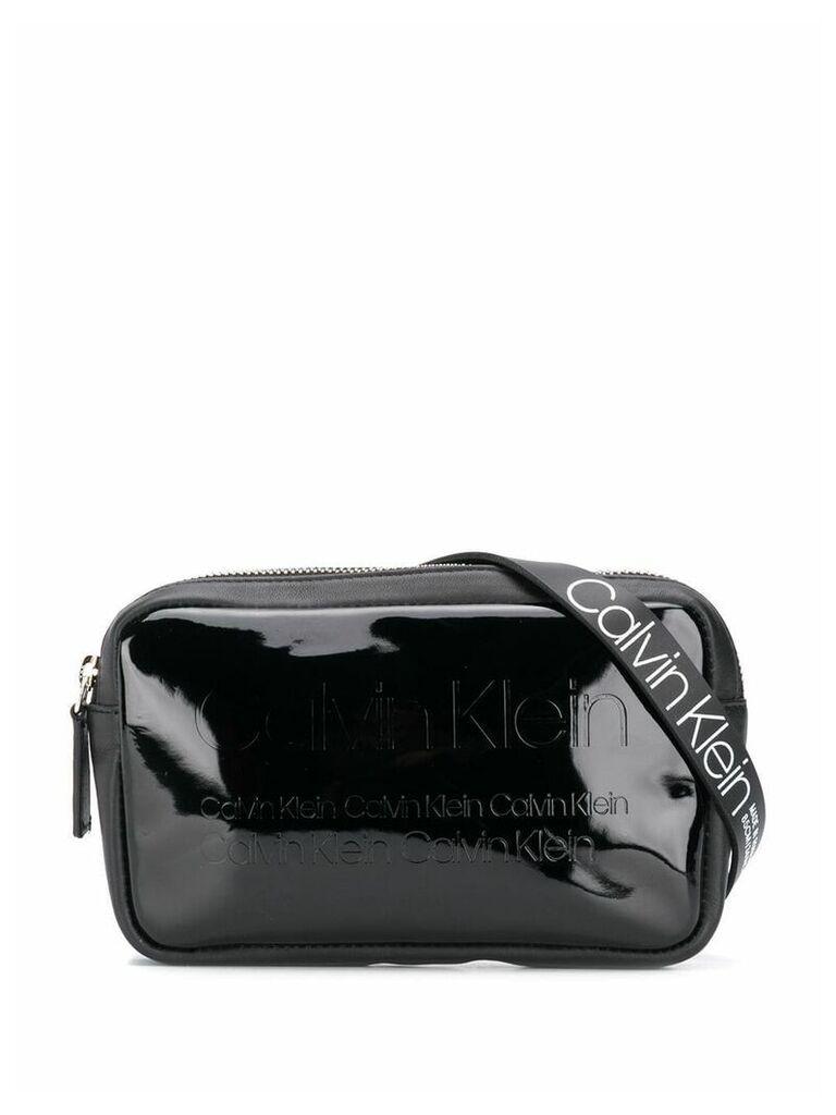 Calvin Klein logo bum bag - Black