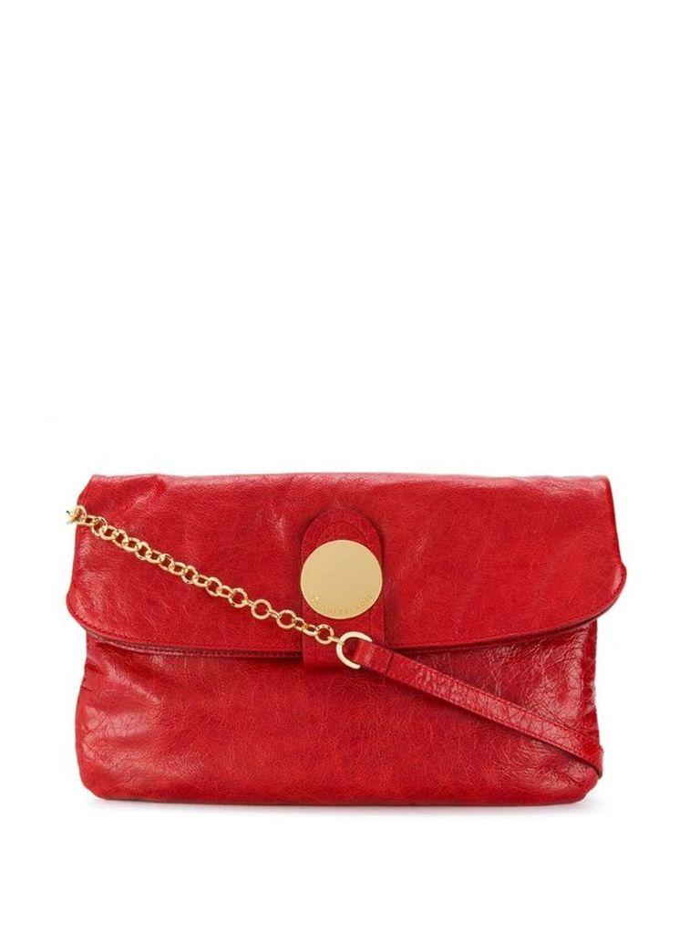 L'Autre Chose large clutch bag - Red