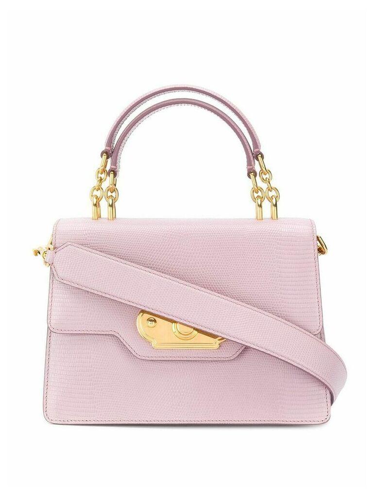 Dolce & Gabbana medium welcome shoulder bag - Purple
