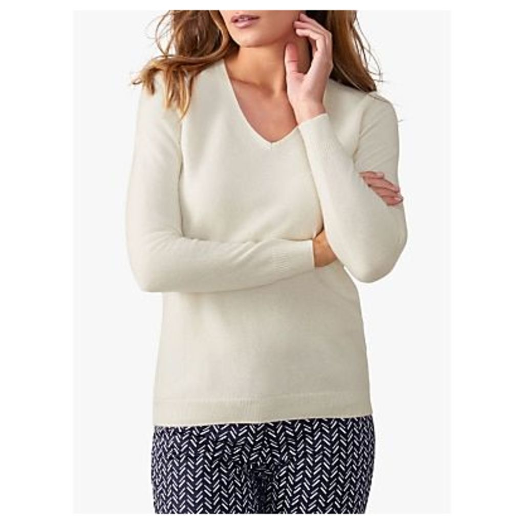 Pure Collection Cashmere V-Neck Sweater