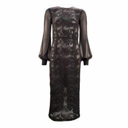 JULIANA HERC - Long Sheath Black Dress