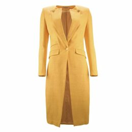 JULIANA HERC - Yellow Overcoat