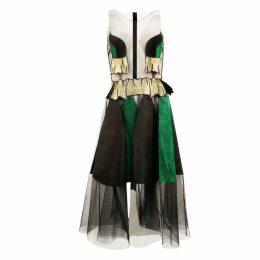 JULIANA HERC - Tulle & Glitter Dress