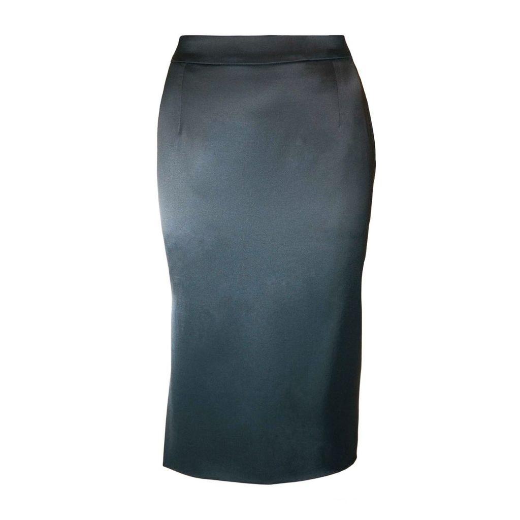 JULIANA HERC - Green Pencil Skirt