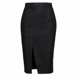 JULIANA HERC - Green Dress With Discharged Shoulder