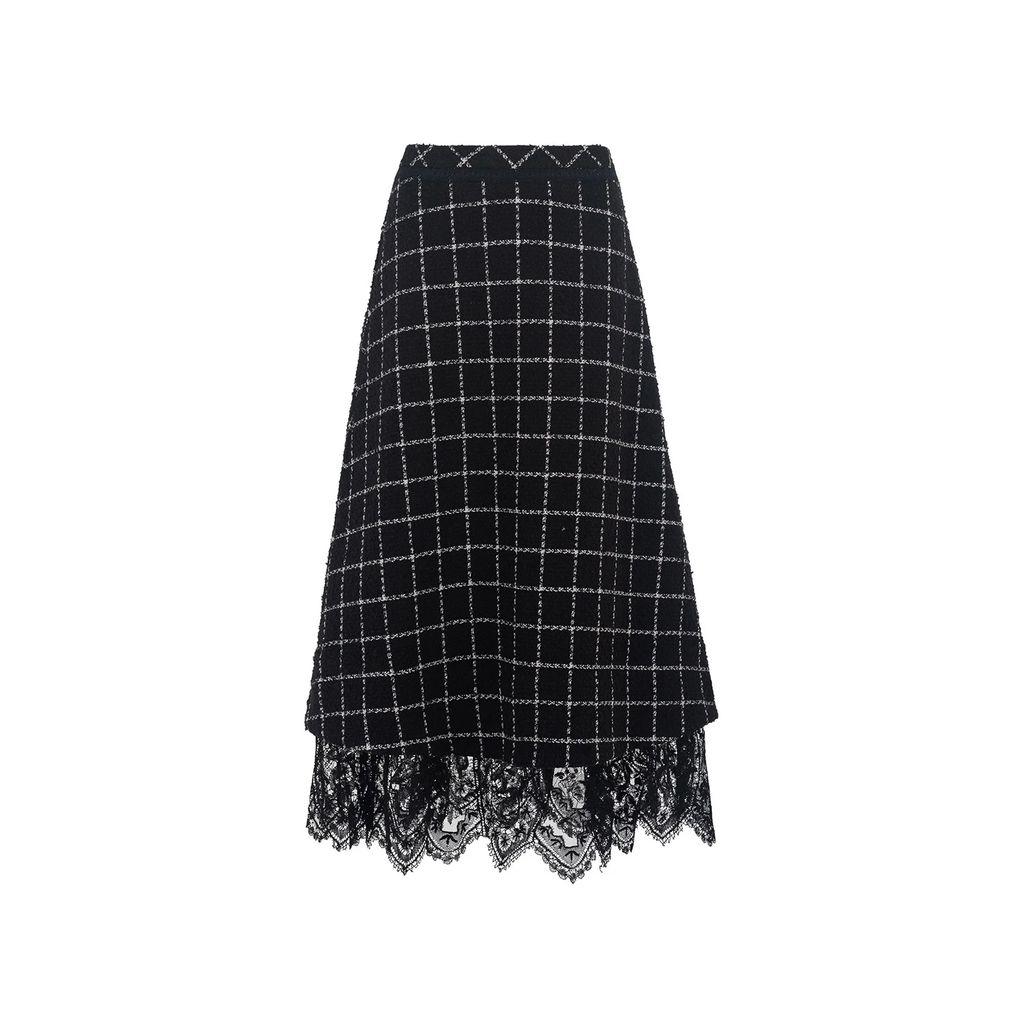 JULIANA HERC - Colorful Flared Skirt