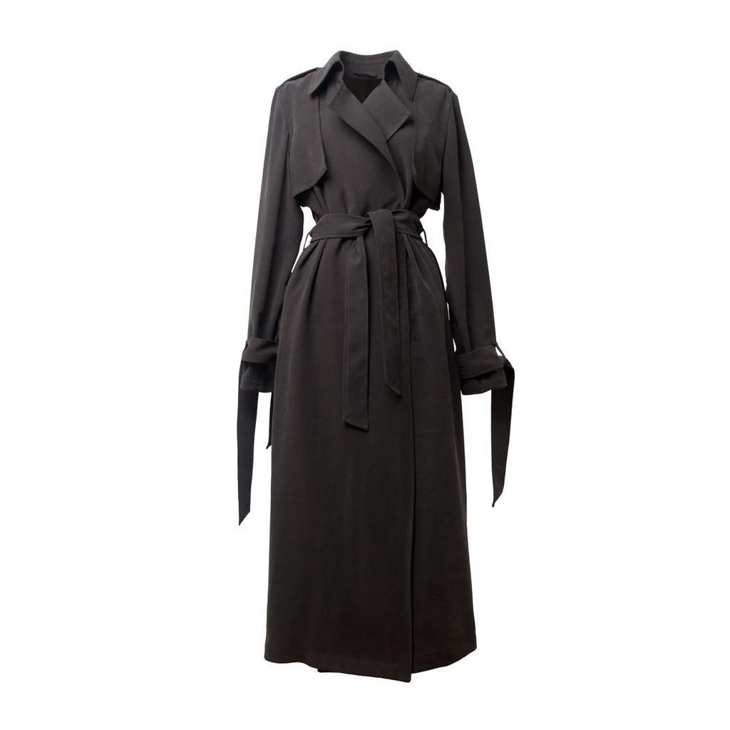 Tomcsanyi - Kistelek Charcoal Trench Coat