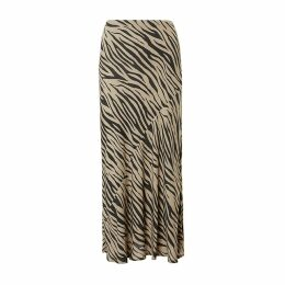 Baukjen - Zuri Skirt In Sand & Black Zebra
