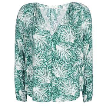 See U Soon  GARAGAVE  women's Blouse in Green