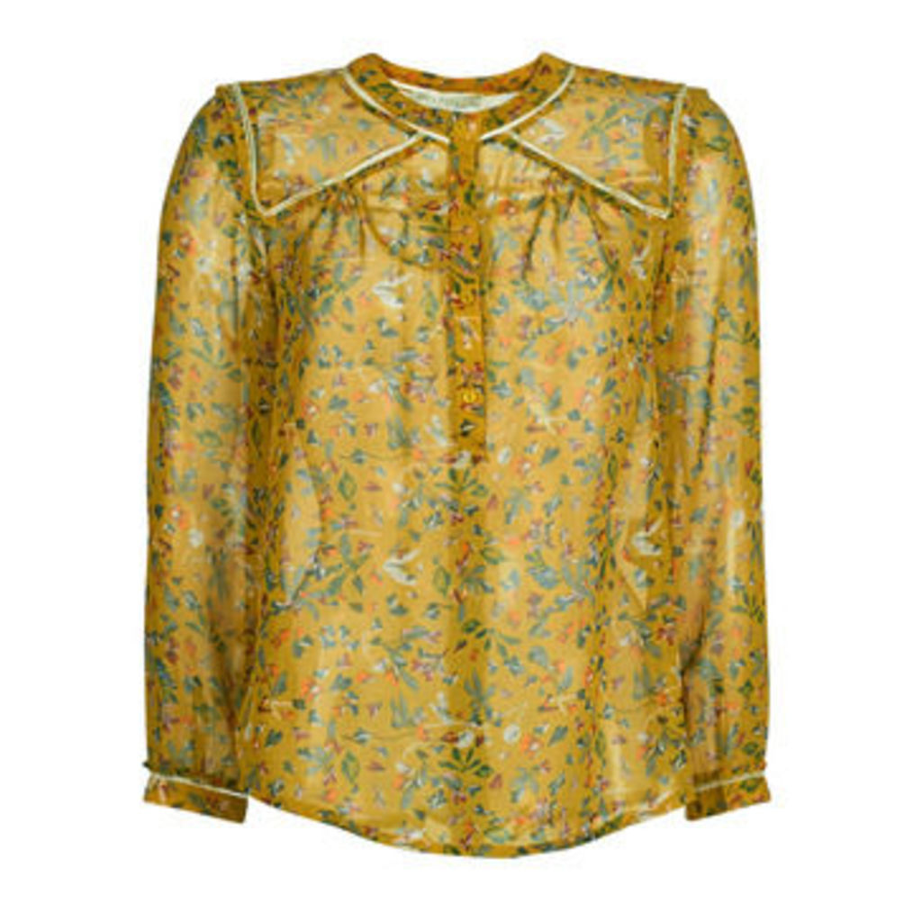 See U Soon  GARAGATE  women's Blouse in Yellow