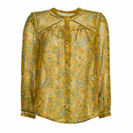 See U Soon  GARAGATE  women's Blouse in Yellow