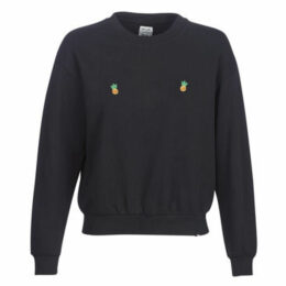 Rip Curl  TIT'S UP CREW FLEECE  women's Sweatshirt in Black