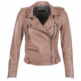 Oakwood  NIGHT  women's Leather jacket in Pink