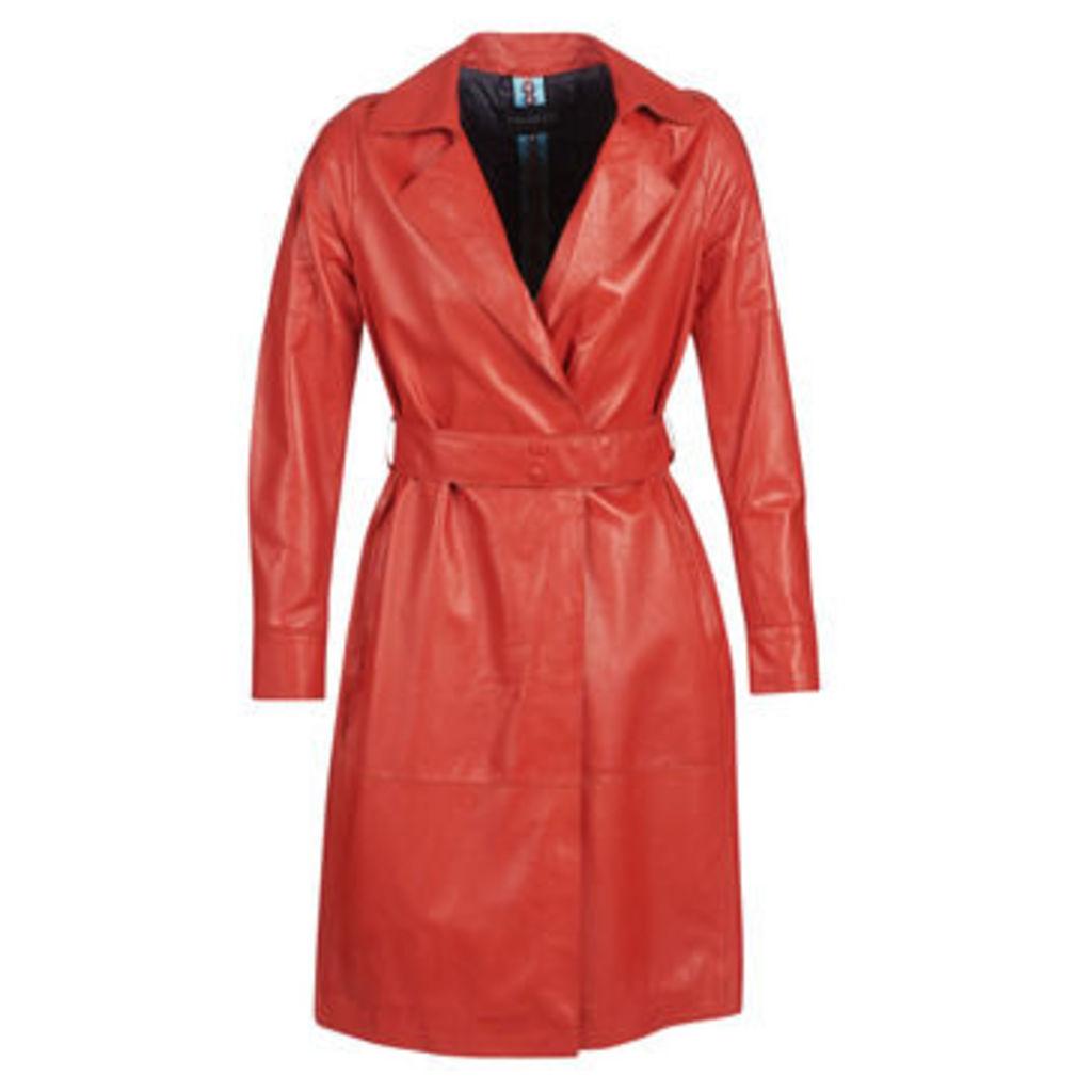Oakwood  HISTORY  women's Trench Coat in Red