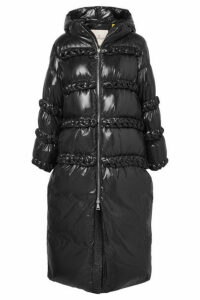 Moncler Genius - + 6 Noir Kei Ninomiya Whipstitched Quilted Shell Down Coat - Black