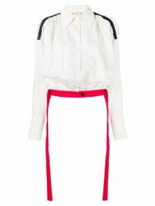 Marni long sleeve blouse - White
