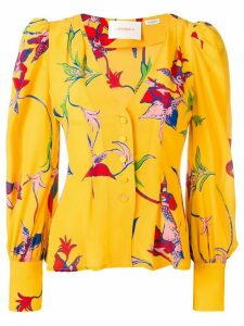 La Doublej smoking shirt - Yellow