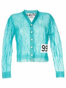 Aalto short cardigan - Blue