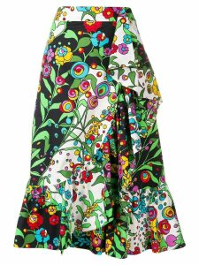 La Doublej holly hock jazzy skirt - White