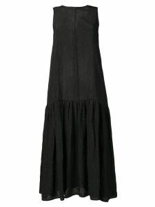 Sara Lanzi sleeveless flared midi dress - Black
